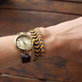 Watch and friendship bracelets 34