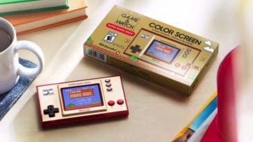 Nintendo is bringing back the Game & Watch and this time it's in color 16