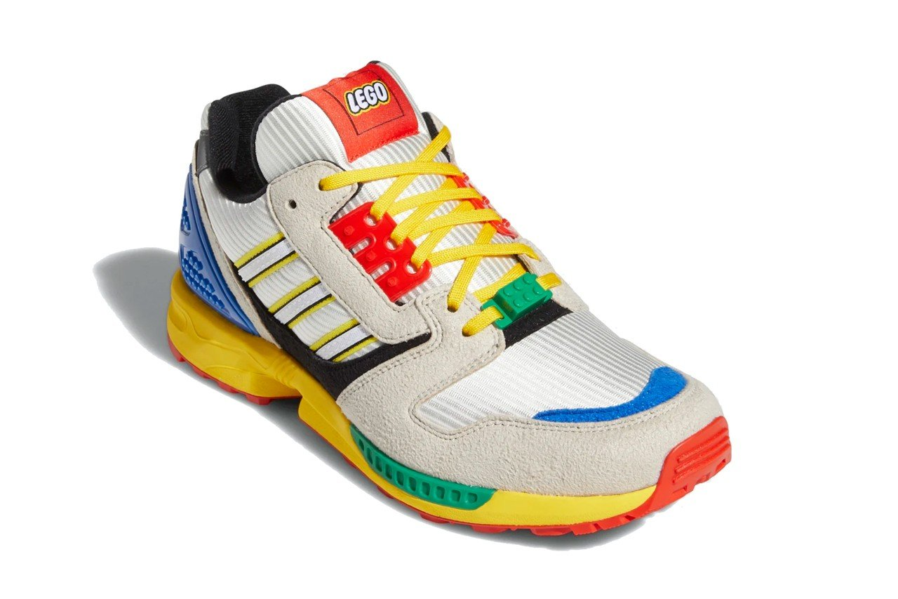 LEGO gives Adidas ZX8000 sneakers a playful update 24