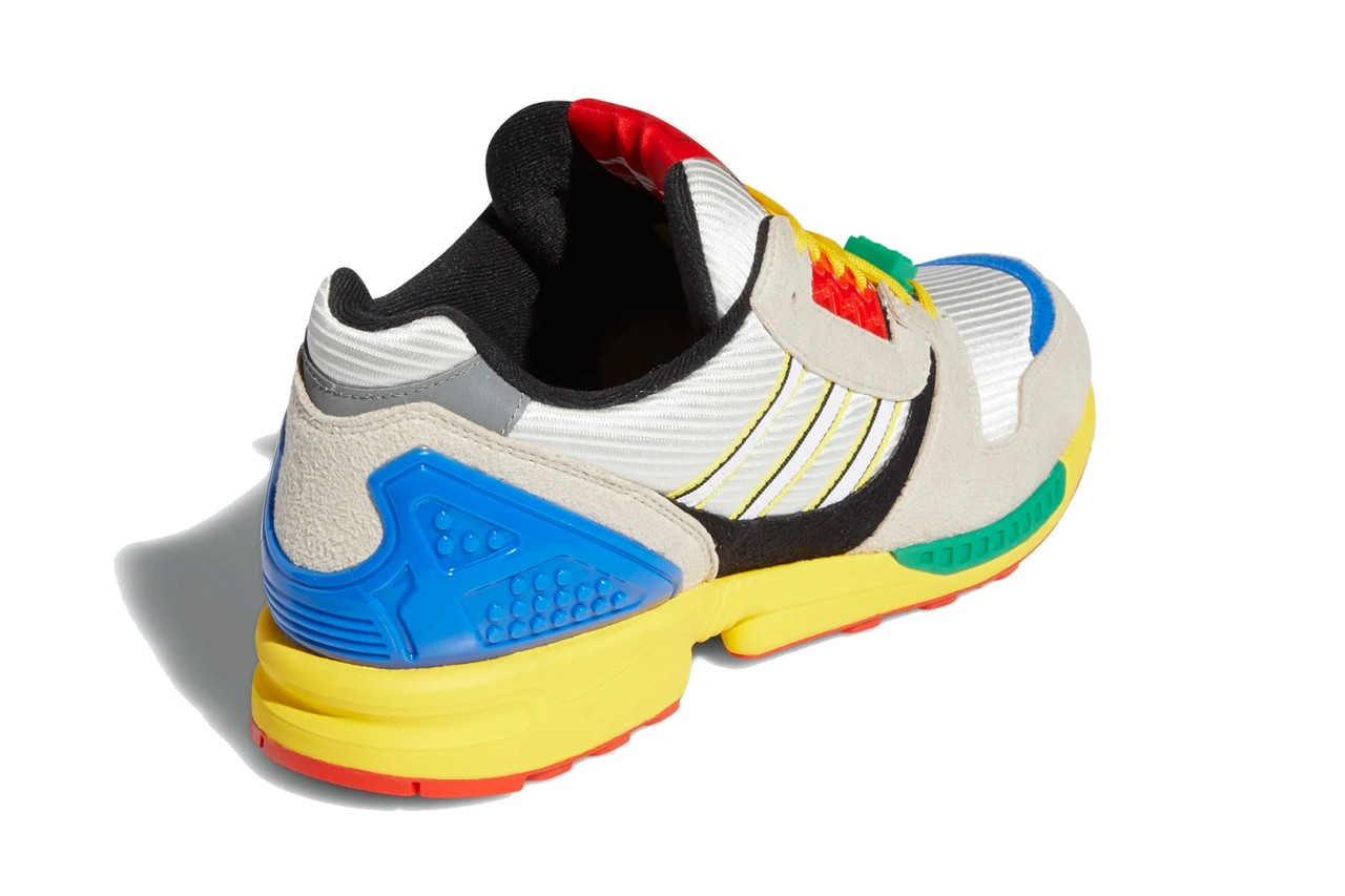 LEGO gives Adidas ZX8000 sneakers a playful update 25