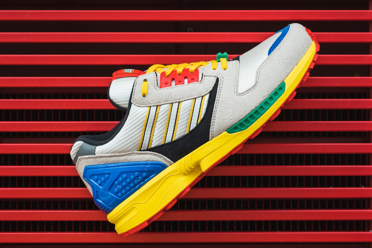 LEGO gives Adidas ZX8000 sneakers a playful update 21