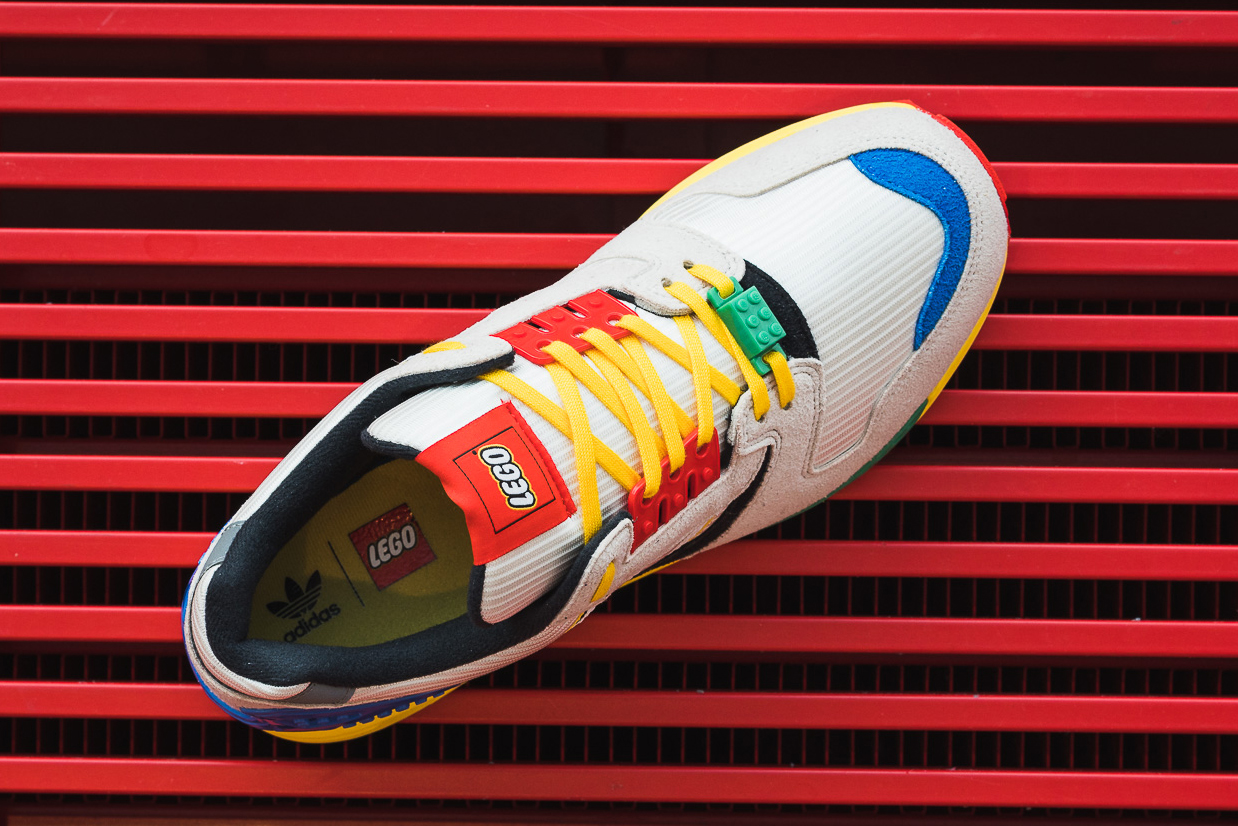 LEGO gives Adidas ZX8000 sneakers a playful update 22
