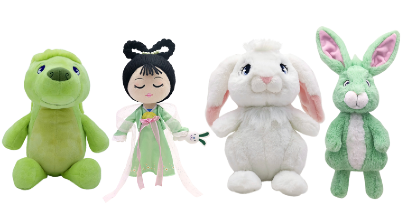 Netflix's Over the Moon is getting a doll and plush line from Mattel 14