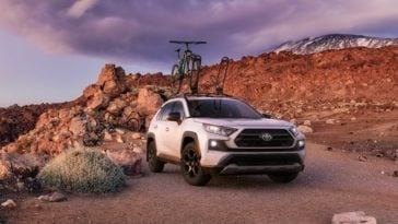 2020 Toyota RAV4 TRD Off-Road Compact SUV review 14