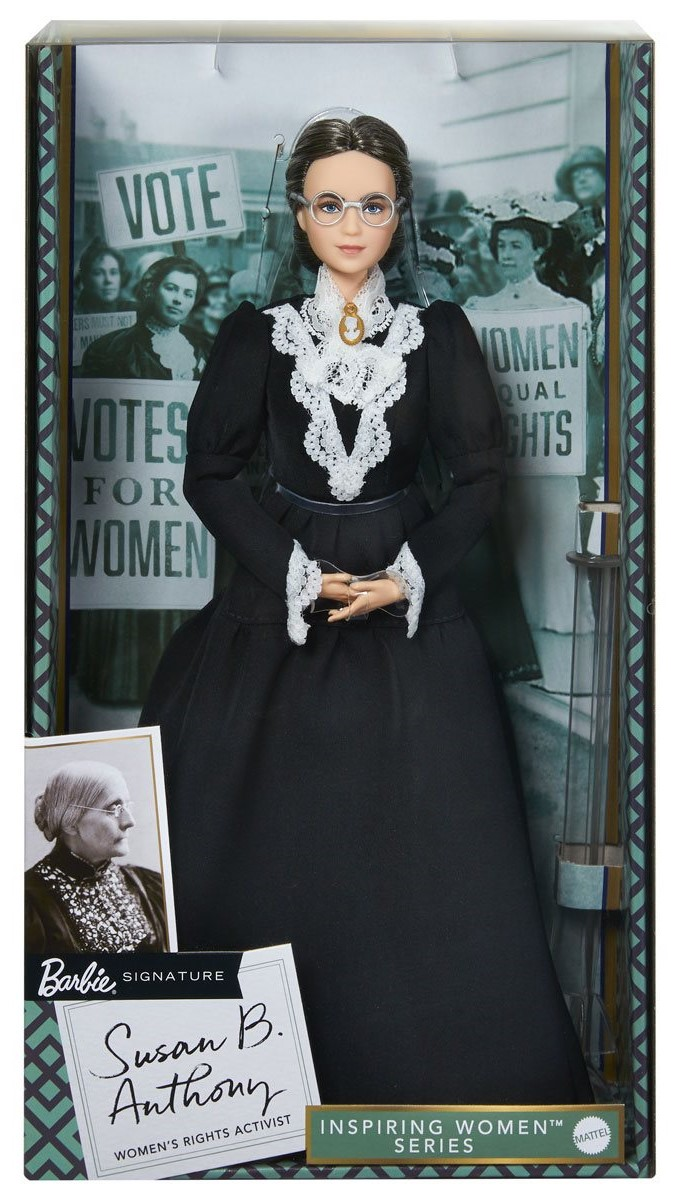 Women's rights activist Susan B. Anthony gets her own Barbie doll 13