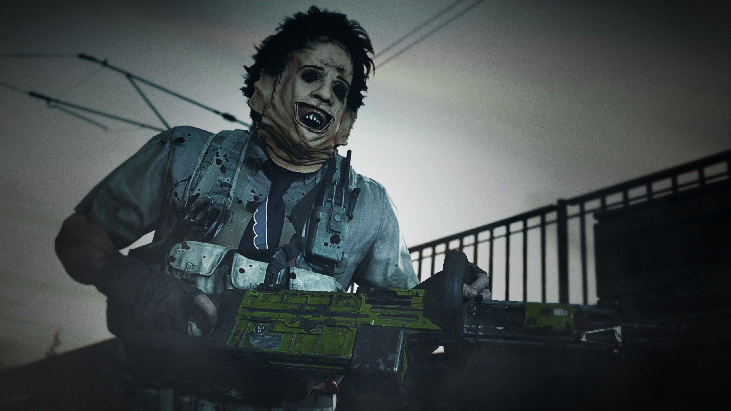 The first poster for The Texas Chainsaw Massacre sequel features a scary Leatherface 14