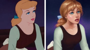 Artist reimagines animated heroines with realistic features 14