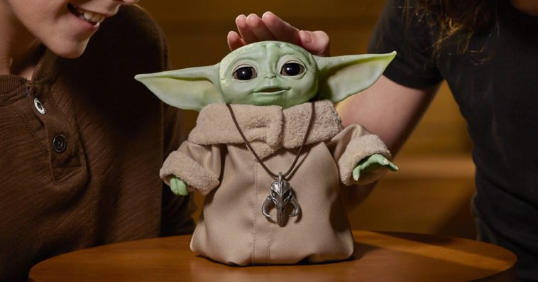 Hasbro's Baby Yoda animatronic toy is finally available to purchase 12