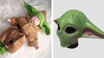 Baby Yoda Halloween costumes for adults, kids and pets have arrived 20