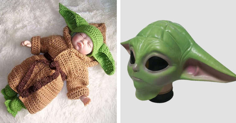 Baby Yoda Halloween costumes for adults, kids and pets have arrived 11