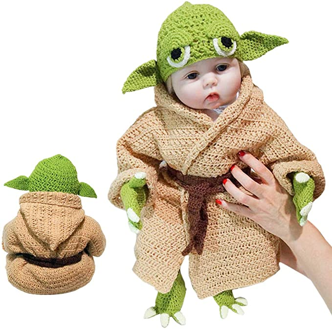 Baby Yoda Halloween costumes for adults, kids and pets have arrived 15