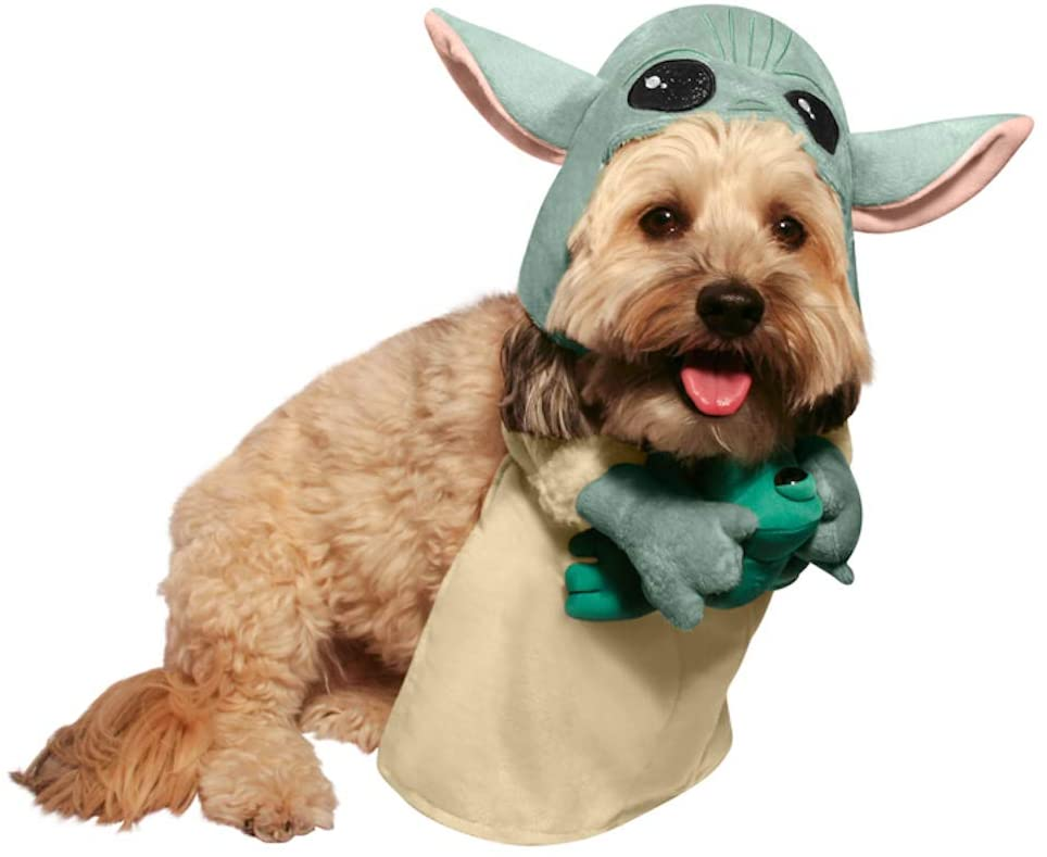 Baby Yoda Halloween costumes for adults, kids and pets have arrived 16