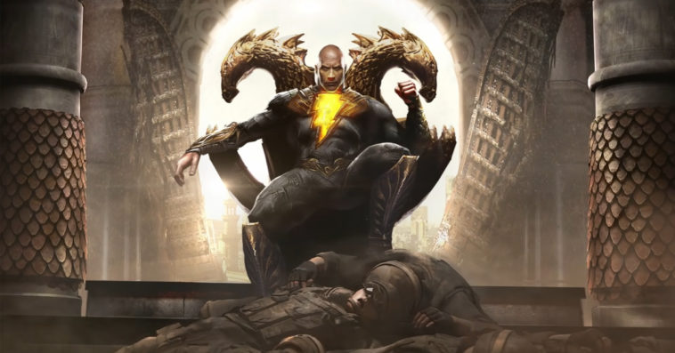 The release of Dwayne Johnson's Black Adam has been delayed indefinitely 12