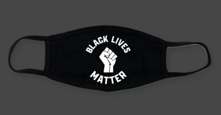 This Black Lives Matter face mask lets you send a powerful message without saying a word 14