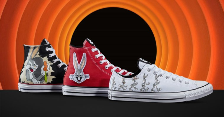Converse celebrates Bugs Bunny's 80th anniversary with a shoe collection 13