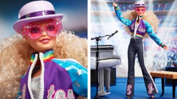 Elton John gets his own Barbie doll 12