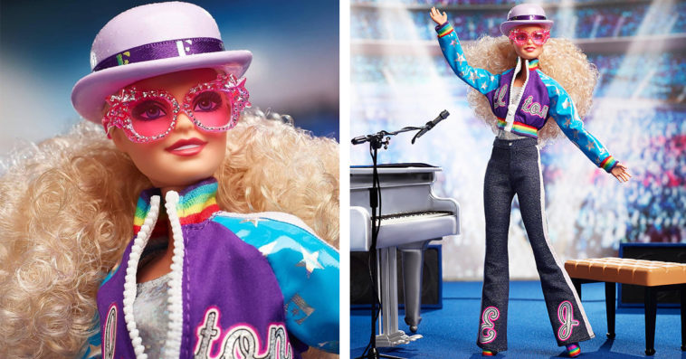 Elton John gets his own Barbie doll 15