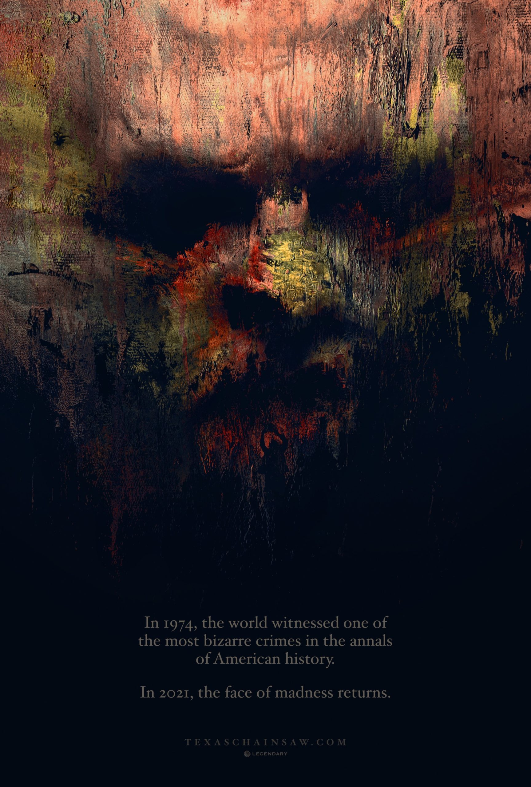 The first poster for The Texas Chainsaw Massacre sequel features a scary Leatherface 13