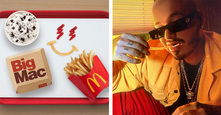 McDonald's partners with J Balvin for its latest celebrity meal 13