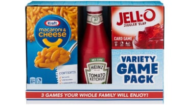Kraft Macaroni & Cheese, Heinz Ketchup, and Jell-O are now tabletop games 20