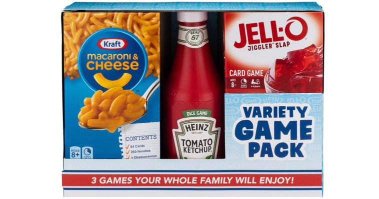 Kraft Macaroni & Cheese, Heinz Ketchup, and Jell-O are now tabletop games 11