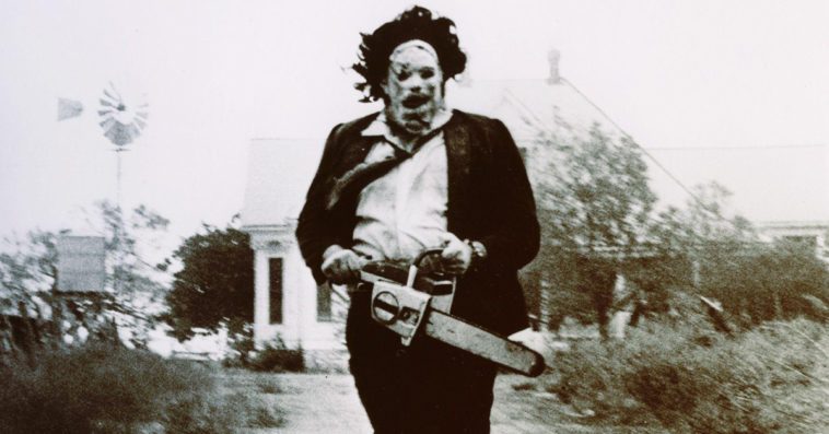The first poster for The Texas Chainsaw Massacre sequel features a scary Leatherface 12