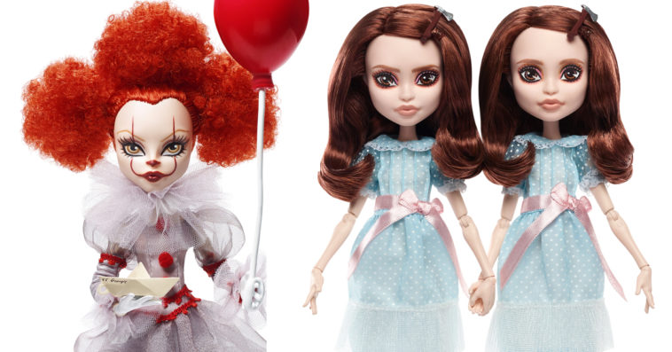 Mattel turns Pennywise and The Grady Twins into Monster High-style dolls 15