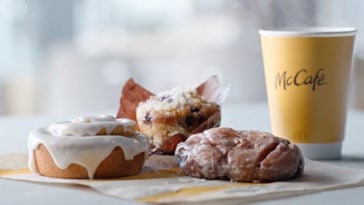 Get McDonald's new apple fritter, blueberry muffin, and cinnamon roll for free 22