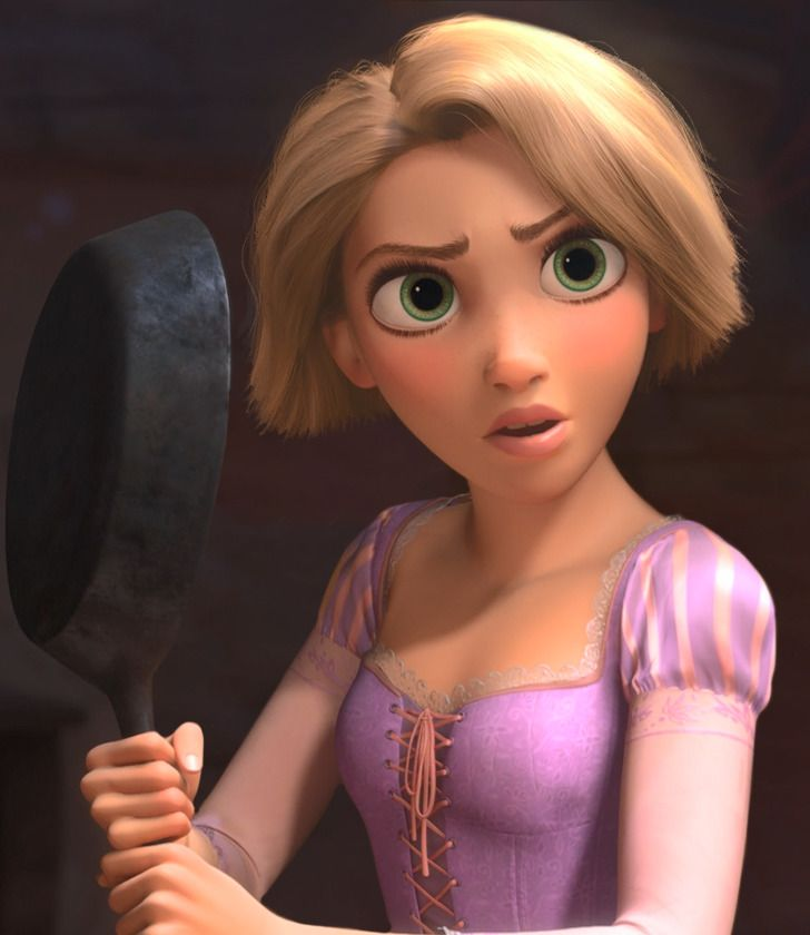 What Disney Princesses would look like if they got haircuts 14