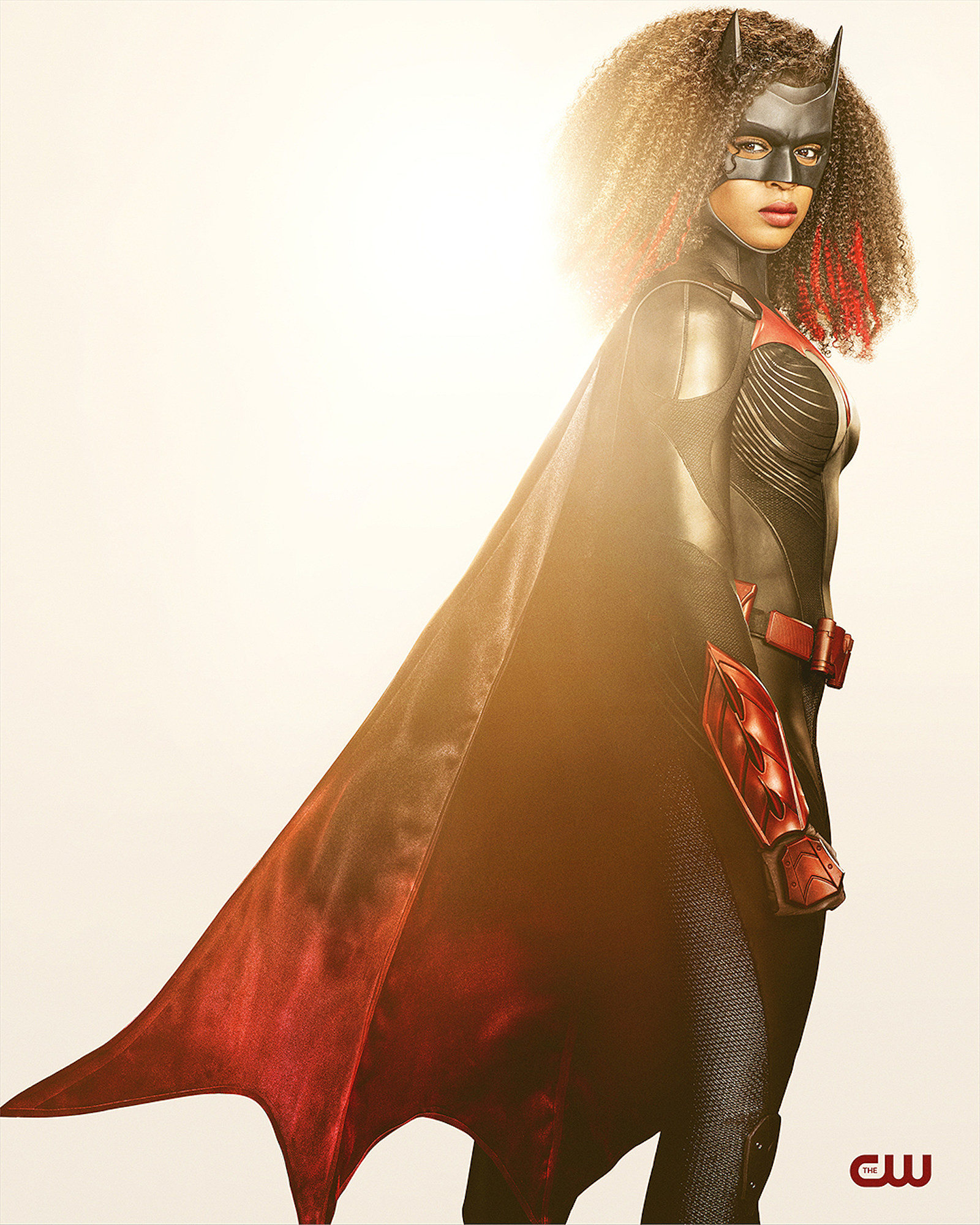 Batwoman's Javicia Leslie looks stunning in her new superhero costume 13