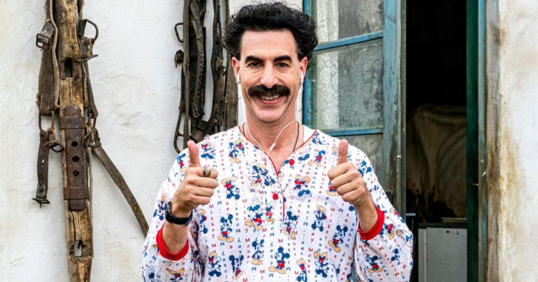 Sacha Baron Cohen on Rudy Giuliani's shocking Borat 2 scene: 'It is what it is' 13