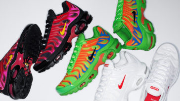 Supreme partners with Nike for a dope Air Max Plus collection 11