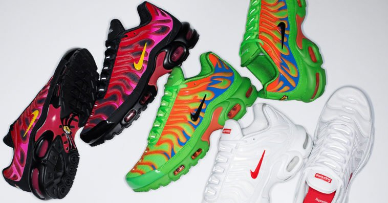Supreme partners with Nike for a dope Air Max Plus collection 12