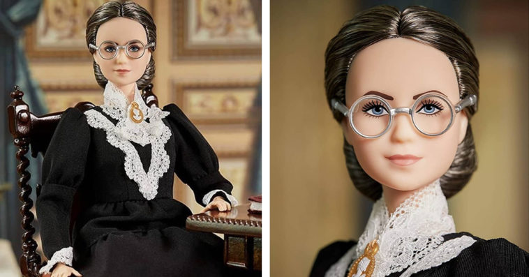 Women's rights activist Susan B. Anthony gets her own Barbie doll 11