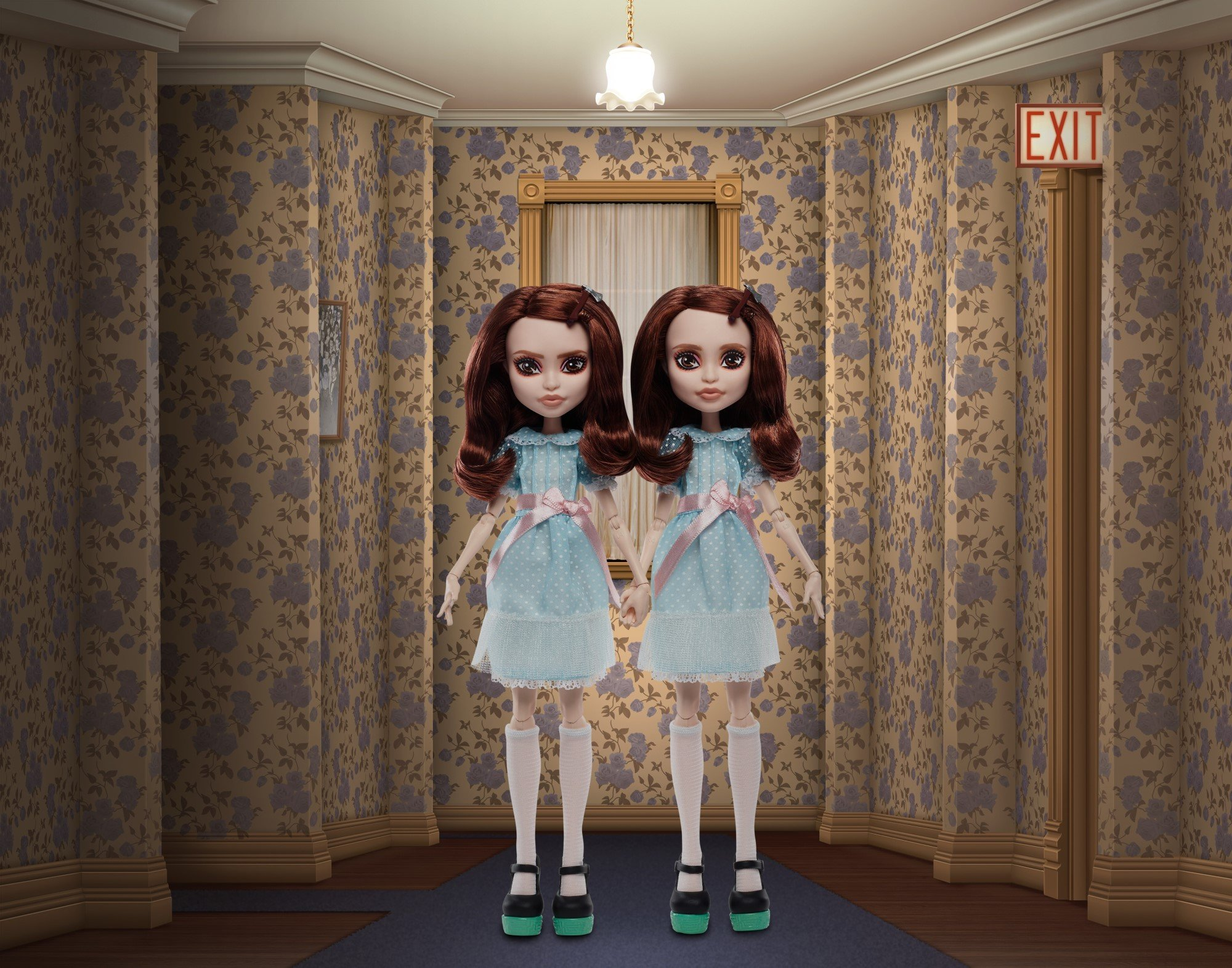 Mattel turns Pennywise and The Grady Twins into Monster High-style dolls 19