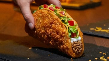 Taco Bell's Toasted Cheddar Chalupa is coming back with a new vegetarian option 12