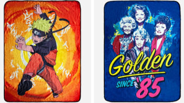 These blankets inspired by Naruto, Golden Girls & more will take your fandom to the next level 24