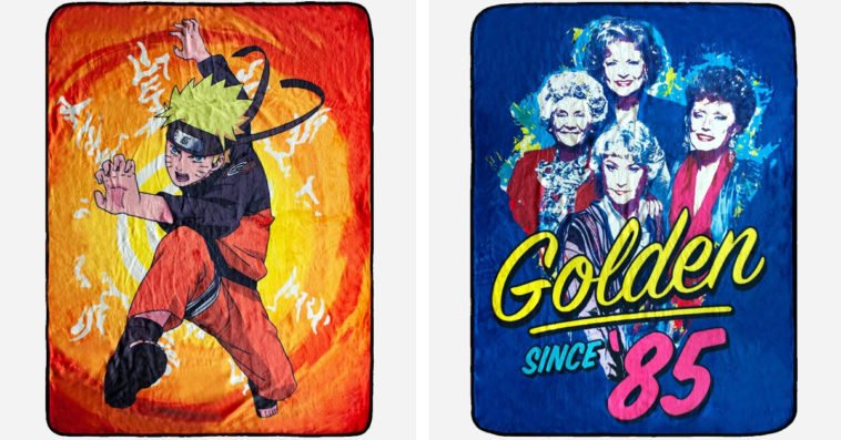 These blankets inspired by Naruto, Golden Girls & more will take your fandom to the next level 10
