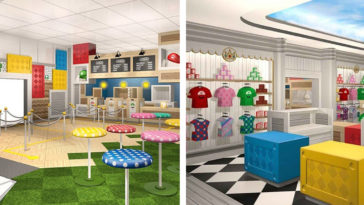 Here's our first look at Nintendo's Mario Café & Store at Universal Studios 18