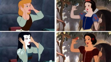 What Disney Princesses would look like if they were different races 15