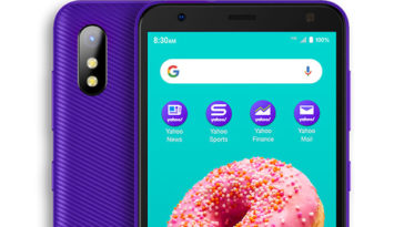 Yahoo! Mobile's first exclusive phone is very purple 13