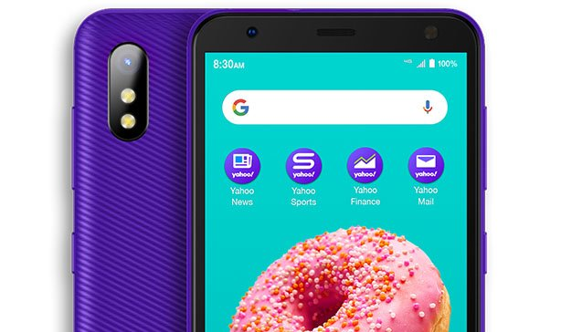 Yahoo! Mobile's first exclusive phone is very purple 12