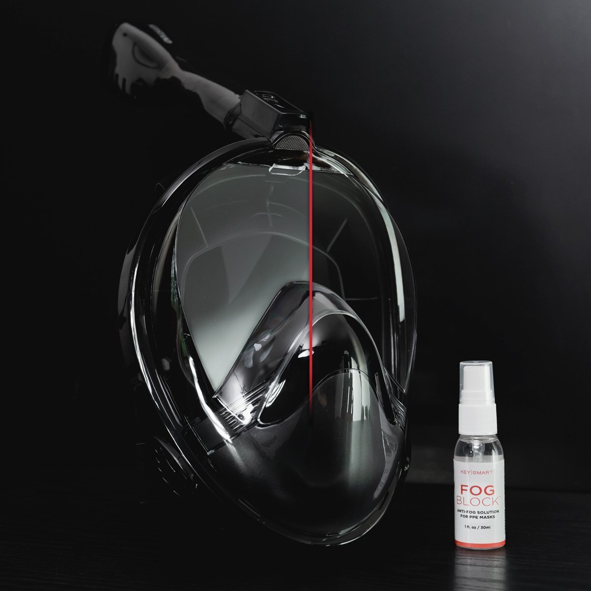 FogBlock spray keeps your glasses fog-free while wearing a face mask 17
