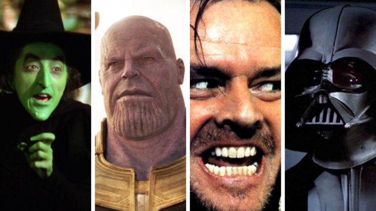 The top 25 most popular villains determined by GIFs 14