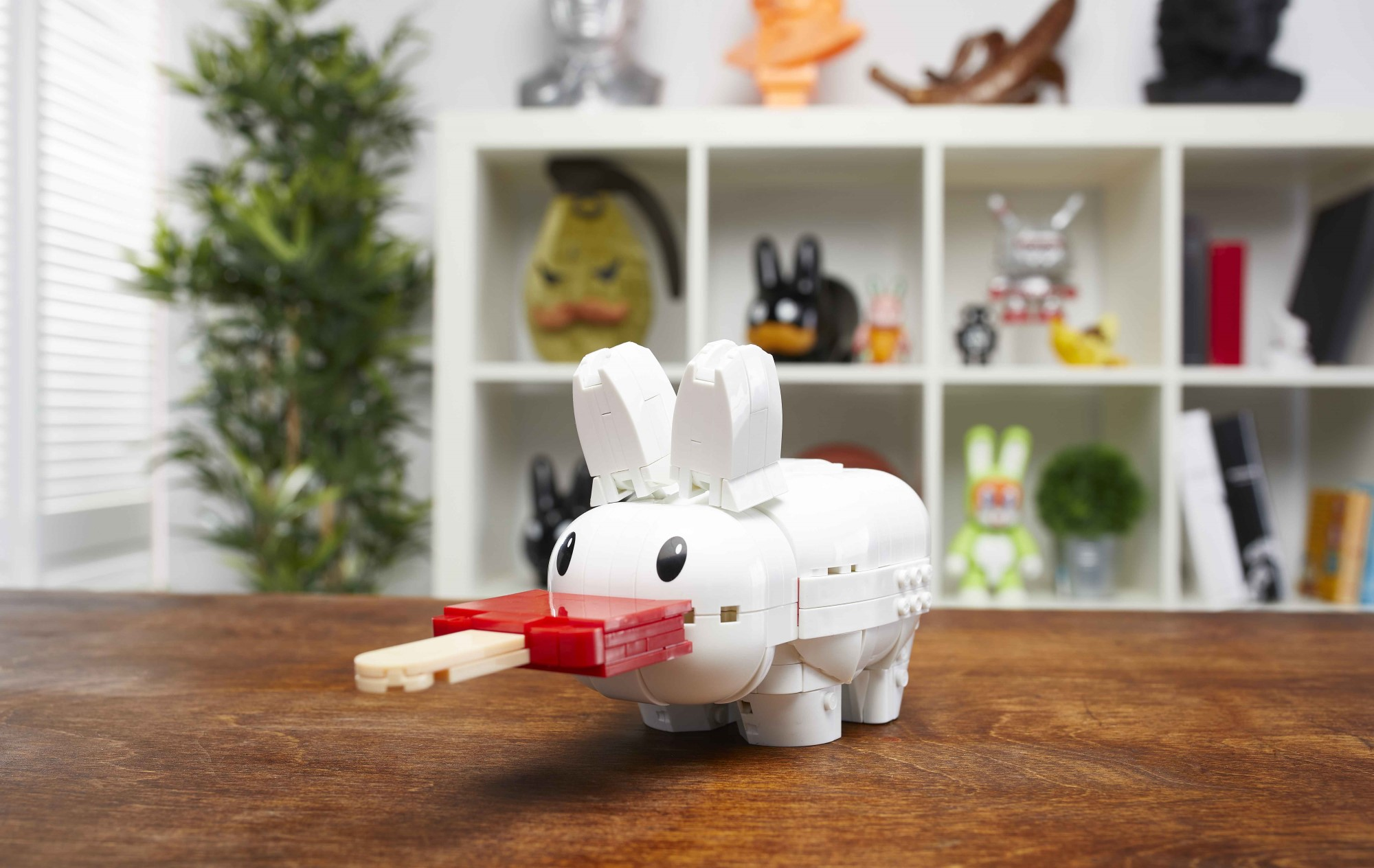 MEGA collabs with Frank Kozik for a build-your-own Labbit 16