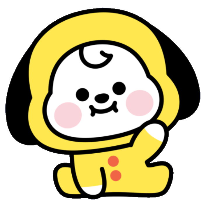 Jimin's BT21 character is named Chimmy. 27
