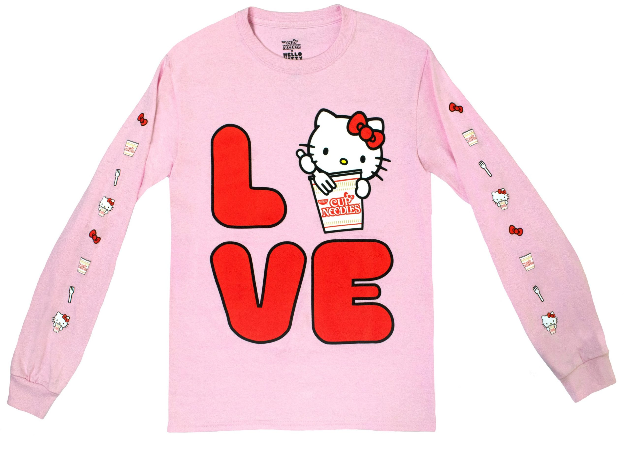 Sanrio and Nissin collab for a clothing collection featuring Hello Kitty and Gudetama 15
