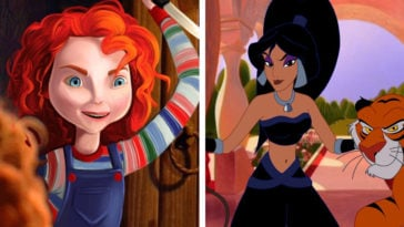 Disney princesses reimagined as villains 3