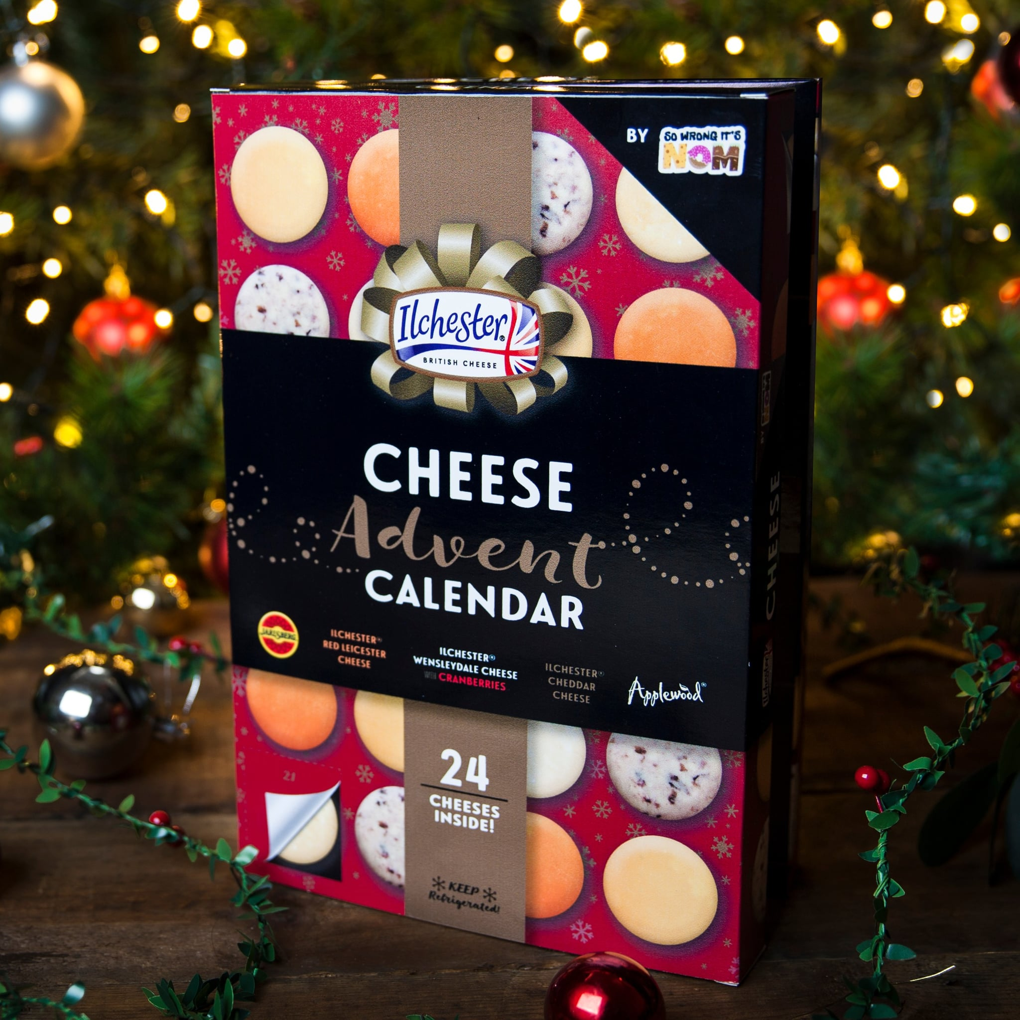 This cheese Advent calendar lets you count down to Christmas one cheese snack at a time 15