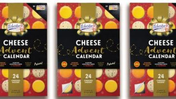 This cheese Advent calendar lets you count down to Christmas one cheese snack at a time 23